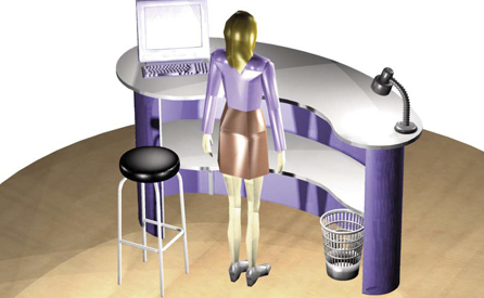 Progettazione di arredamenti per negozi
